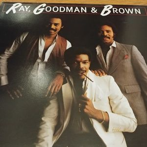 Ray, Goodman, & Brown Vinyl LP 1979